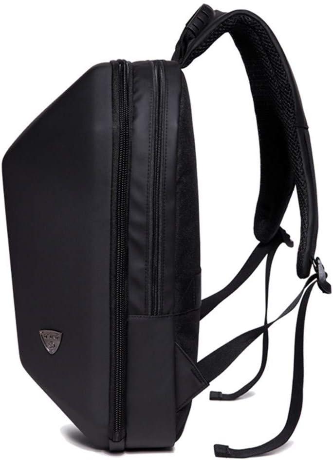 Mens Bag Tanchen Black Hard Shell Backpack Anti Theft Laptop Backpack Large Capacity Multifunction Computer Bag