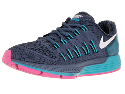 the latest 56e98 9ea09 Nike Women s Air Zoom Odyseey Ocean Fog White Black Gmm Blue Running Shoe