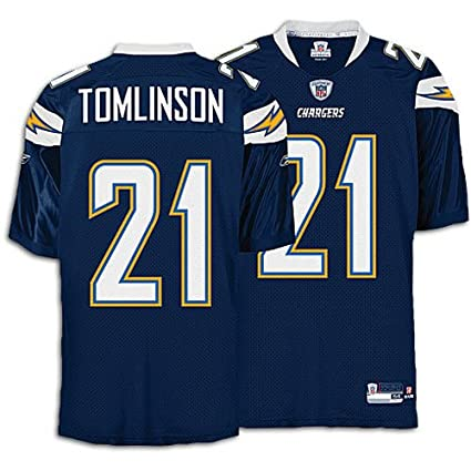 amazon com ladainian tomlinson 21 san diego chargers authentic rh amazon com Andrew Luck NFL Peyton Manning NFL