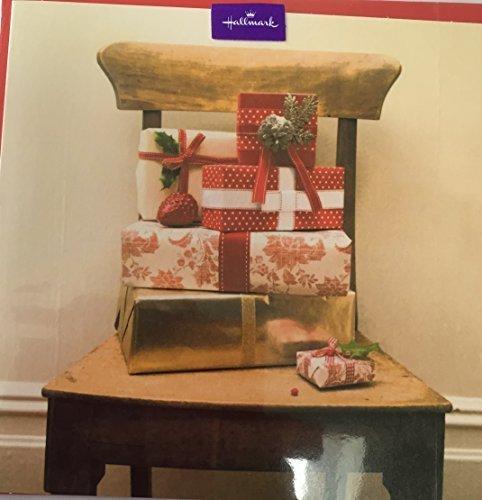 Gift & Chair Blank Card by Hallmark Christmas Greetings Card