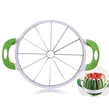 NEX Watermelon Slicer Melon Cutter Large Stainless Steel Fruit Knife Peeler Corer Vegetable Kitchen Gadgets Tools