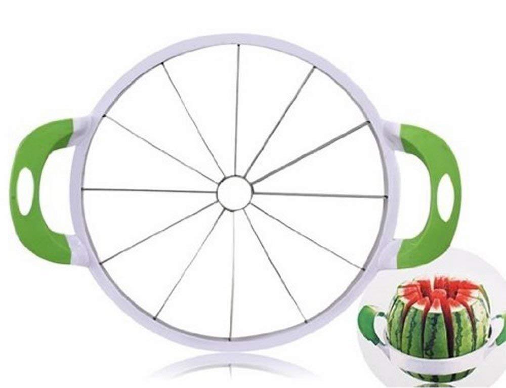 Watermelon Slicer Large Stainless Steel Fruit Cutter Kitchen Utensils Gadgets Large Melon Slicer by NEX (Image #1)