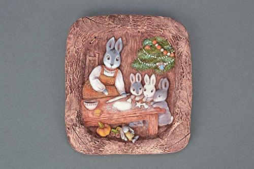 Christmas Ceramic Panel (Fretwork Panels)