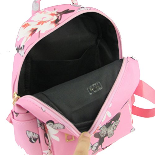 Sale Flower femmes Fille Hot Print PU cuir Sacs Casual Donalworld 6IEq8