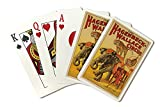 Hagenbeck - Wallace Circus (elephant and tigers) Vintage Poster USA c. 1933 (Playing Card Deck - 52 Card Poker Size with Jokers)