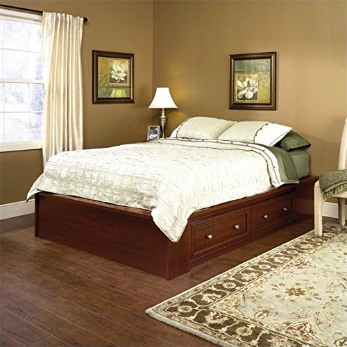 sauder-413998-palladia-platform-bed-section-queen-cherry