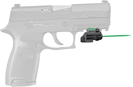 ArmaLaser SIG P320 Compact GTO Green Laser Sight and FLX63 Grip Switch