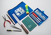 AMX3d 25 Piece 3D Printer Tool Kit - All the 3D Printing Tools needed to clean & finish 3D Prints - Print like a Pro from AMX3d, Inc