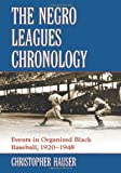 The Negro Leagues Chronology, Christopher Hauser, 0786442360