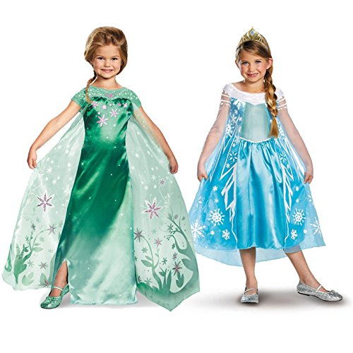 Disne (Olaf Anna And Elsa Costumes)