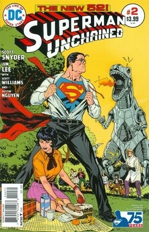 Superman Unchained #2 New 52 1:50 Bronze Age Variant Cover Edition pdf