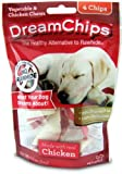 DreamBone Dream Chips Chicken Dog Chew, 4-count by DreamBone