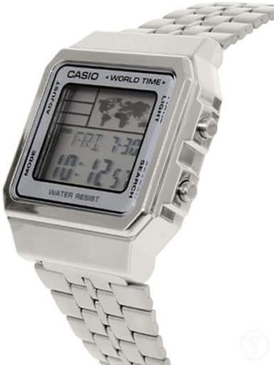 Casio A500WA 7D Vintage Montre Mixte Quartz Digital  irE1P