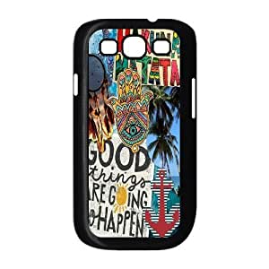 DIY Phone Case for Samsung Galaxy S3 I9300, Good Vibes Cover Case - HL-503974