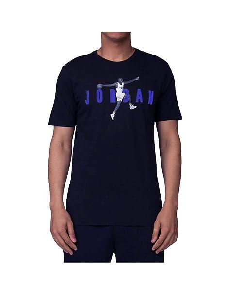 Nike Camiseta Jordan Sportswear Modern Negro Hombre: Amazon.es: Ropa y accesorios