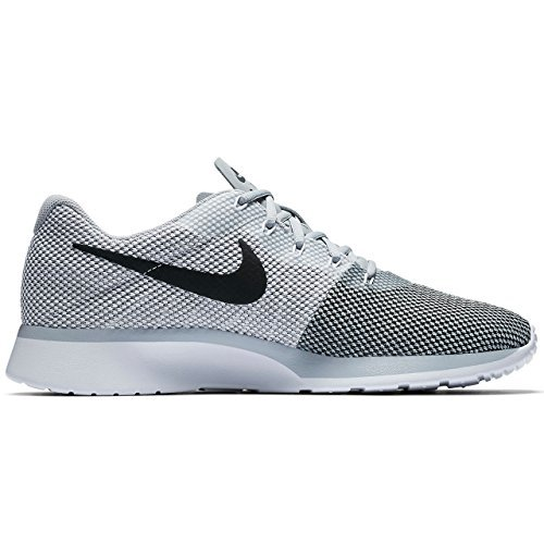 7c4e0965105 Galleon - Nike Mens Tanjun Racer Wolf Grey White Black Size 14