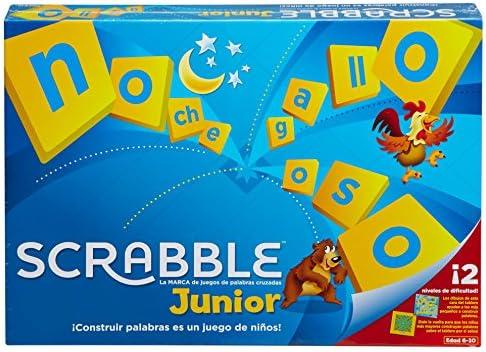 Mattel Games - Scrabble Junior, Juego de Mesa (51330): Amazon.es: Juguetes y juegos