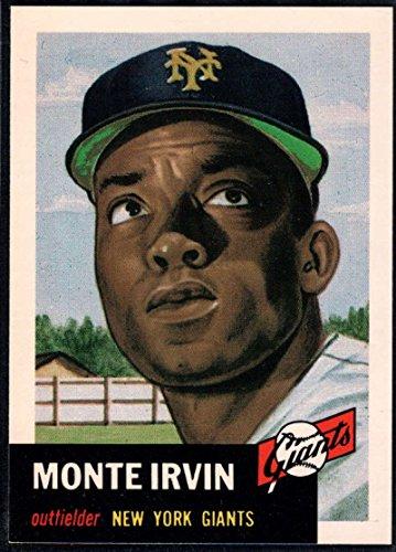 (Baseball MLB 1991 Topps Archives 1953#62 Monte Irvin NY Giants)