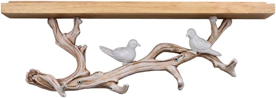 ripiani mensole legno e resina