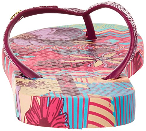 Ipanema I Love Tribal Fem, Tongs Femme,Multicolore  (8690 - pink/purple),40