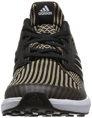 adidas Unisex-Erwachsene RapidaRun Knit J Fitnessschuhe schwarz (Negbas / Negbas / Ftwbla 000)