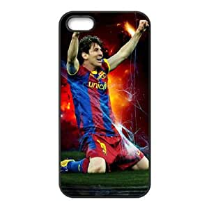 Lionel Messi iPhone 4 4s Cell Phone Case Black D6B8WV