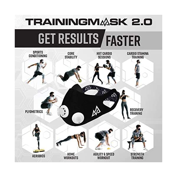 Training Mask Elevation Maschera per Allenamento ad Alta Quota 3 spesavip