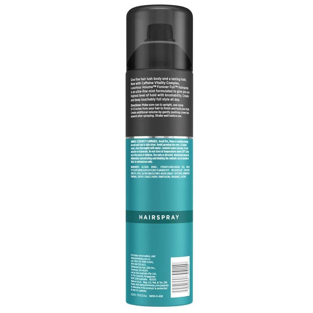Amazon.com : Laca Para Cabello Fino Con Fijación Fuerte, Volumen Y Cuerpo - Aerosol Spray : Beauty
