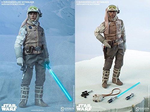 """Sideshow Star Wars Commander Luke Skywalker - Hoth 1/6 Scale 12"""" Figure"""