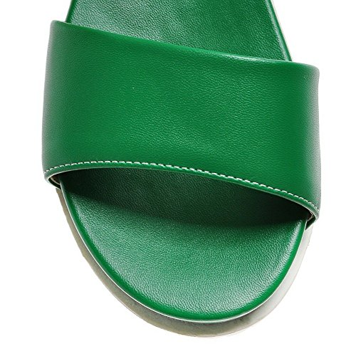 Buttom Adee Sandals Green Muffin Girls Comfort Polyurethane American UIrfUqA