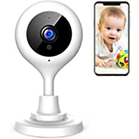 $25 » APEMAN Baby Monitor WiFi Camera 1080P FHD Home Security Camera with Night Vision…