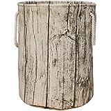 Jacone Stylish Tree Stump Shape Design Storage Basket...