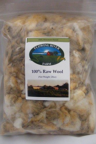 - Raw Sheep Wool - 20oz.