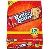 Nutter Butter Peanut Butter Sandwich Cookies, 12 Count Box, 22.8 Ounce