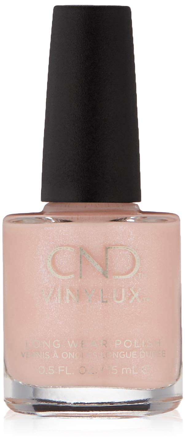 CND Vinylux Grapefruit Sparkle 15ml Bottle CNDV0041