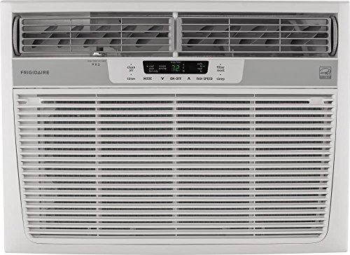 230v Low Water (Frigidaire 25,000 BTU 230V Window-Mounted Heavy-Duty Air Conditioner with Temperature Sensing Remote Control)