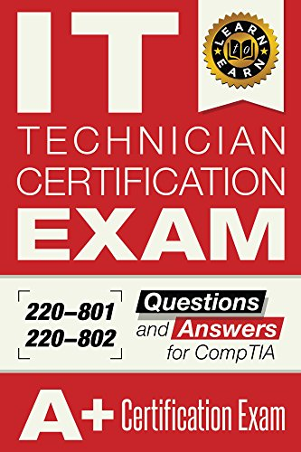 IT Technician Certification EXAM cover