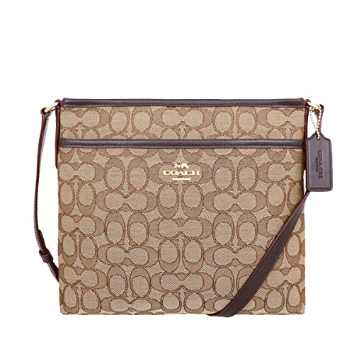COACH FILE CROSSBODY IN SIGNATURE JACQUARD F29960 IMC7C