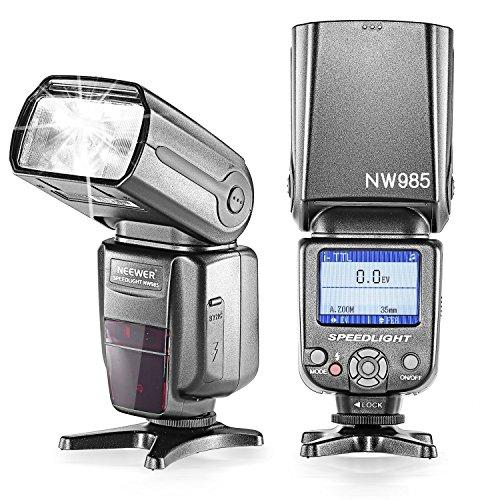 NEEWER NW-985N i-TTL 4カラーTFTスクリーンディスプレーディフューザー付き for Nikonの商品画像