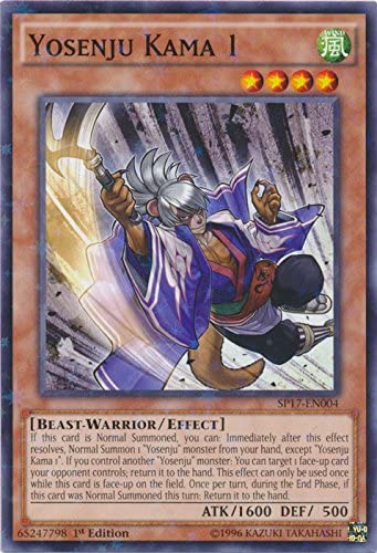 Yosenju Misak THSF-EN002 Secret Rare Yu-Gi-Oh Card 1st Edition New