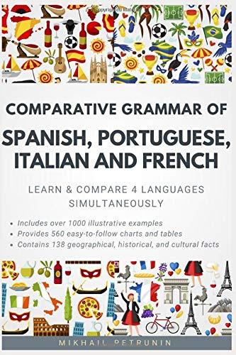 Comparative Grammar Spanish Portuguese Italian product image