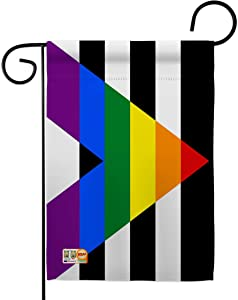 Straight Allies for Equality Garden Flag - Support Pride Rainbow Love LGBT Gay Bisexual Pansexual Transgender - House Decoration Banner Small Yard Gift Double-Sided Made in USA 13 X 18.5