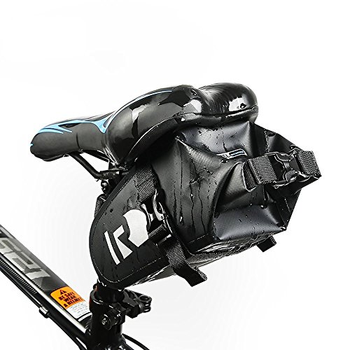 Bike Sitz Sattel Wedge Pack Tasche, yicol Mountain Road MTB Fahrrad Pack Aufbewahrung Paar Satteltasche für Reparatur Werkzeug, Handy, Schlüssel und andere Dinge