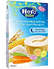 Hero Baby Good Night 8 Cereal and Vegetable with Milk