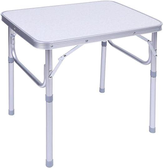Estink - Mesa Plegable de Aluminio para Camping, para Exteriores ...