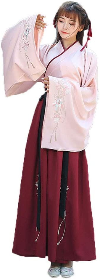AIFHF Vestido De Mujer Bordada Hanfu La Vendimia China Disfraces ...