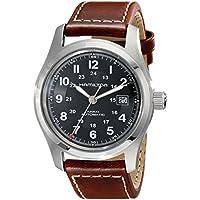 Hamilton Khaki Field Automatic Men's Brown Leather Watch (H70555533)