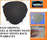 Motorcycle Gel Pad Driver Seat cushion For Harley Davidson FLSTC Heritage Softail Classic