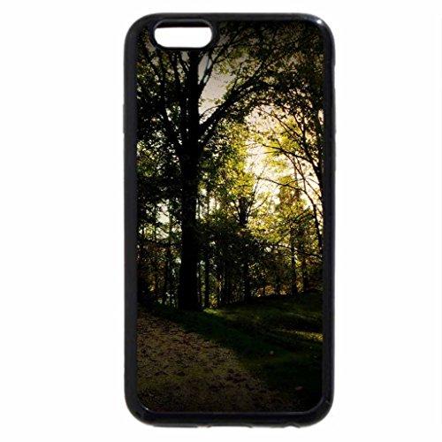 iPhone 6S Case, iPhone 6 Case (Black & White) - Interspersed