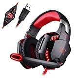 Mengshen USB Vibration Gaming Headset - 7.1 Surround Stereo Sound Over Ear Headphones